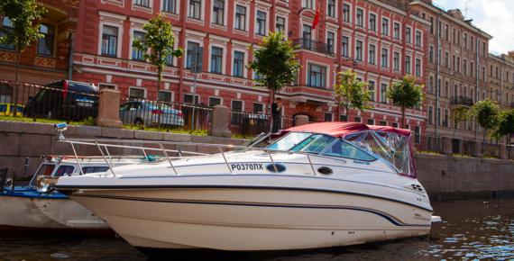Прокат катера в спб